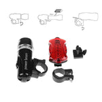 Waterproof LED Cycling Light Set Bicycle Front Launch