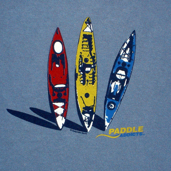 Paddle Addicts - 3 Kayaks