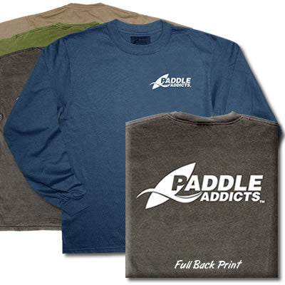 Paddle Addicts - Logo Wear - Lng Slv