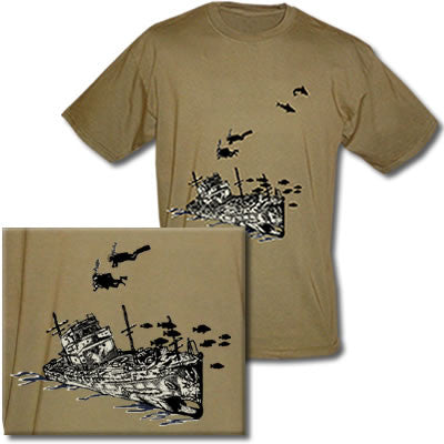 Shipwreck Divers Tee Shirt