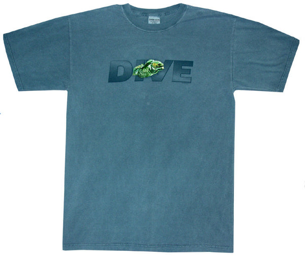 Moray Eel Dive Tee Shirt | Designated Diver Classics