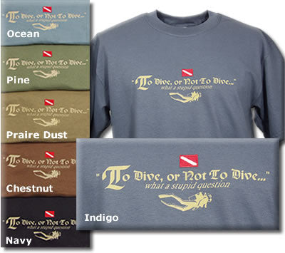To Dive or Not To Dive Tee Shirt