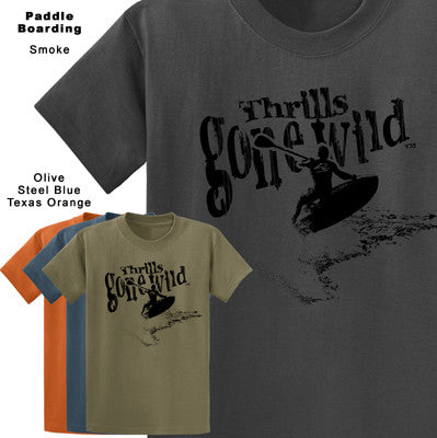 Thrills Gone Wild - Paddle Boarding