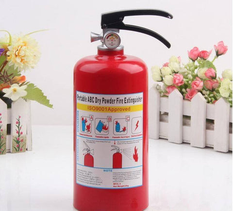 Fire Extinguisher Coin Jar - Donum.shop