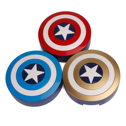 Captain America Contact Lenses Case - Donum.shop