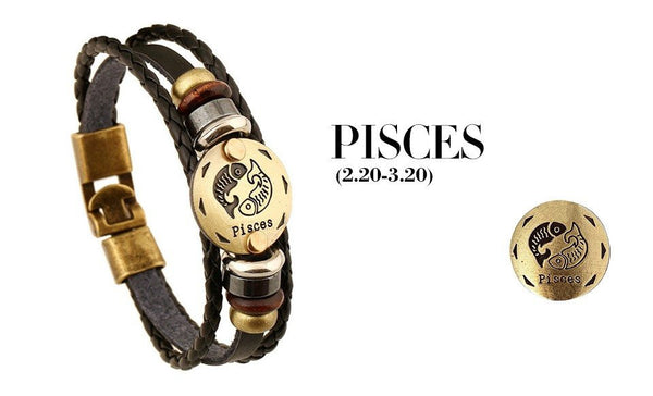 Zodiac Sign Bracelet - Donum.shop