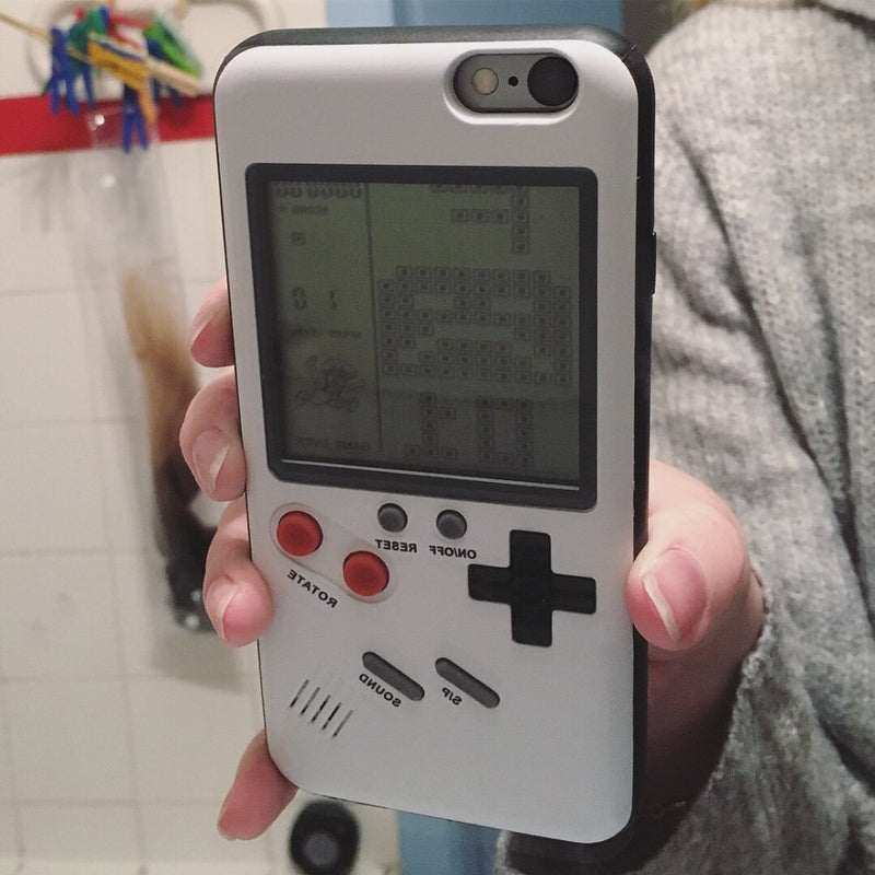 iPhone Case With Playable Tetris Game Nintendo Gameboy - Voodeal