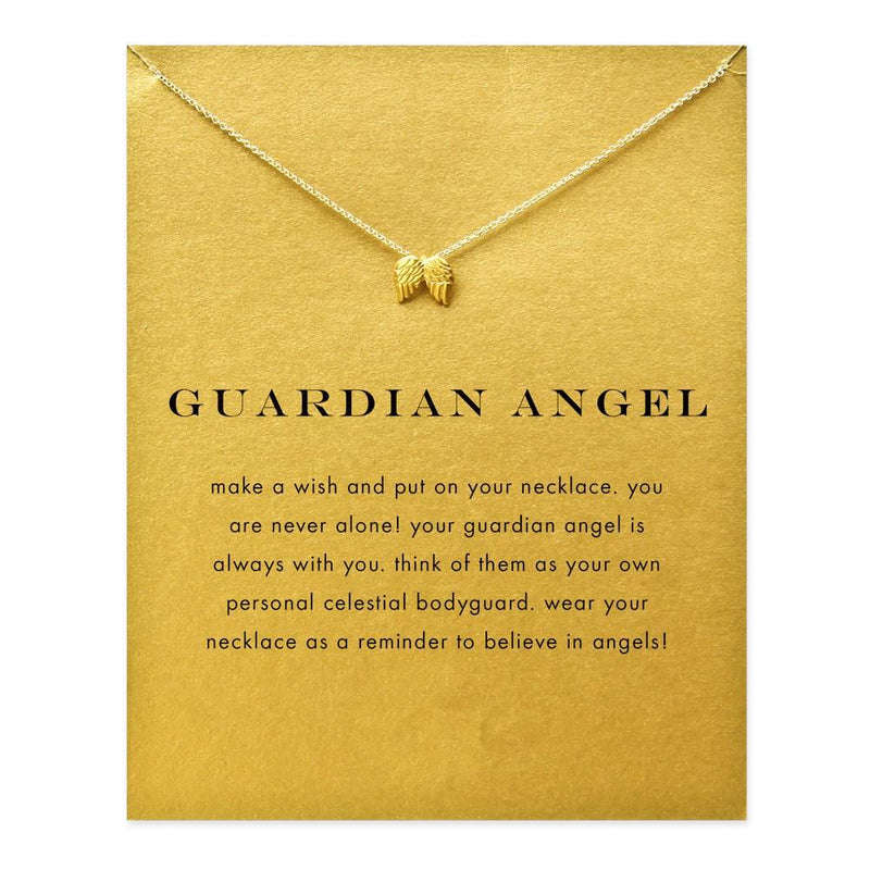 Guardian angel, wings of an angel necklace - Voodeal