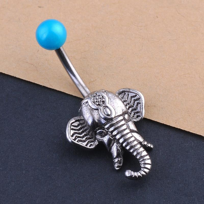 Elephant Belly Button Rings - Voodeal