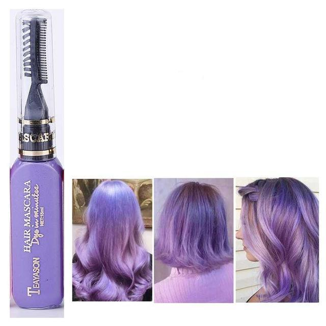 Non-toxic Temporary Hair Color Cream 8 colors - Voodeal