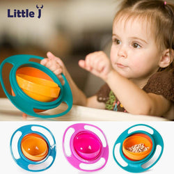 360 ROTATING NON-SPILL BOWL FOR KIDS - Voodeal