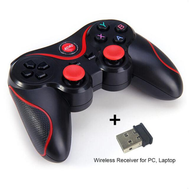 Wireless Bluetooth 3.0 Gamepad Gaming Controller for Android Smartphone  -  BLACK - Voodeal