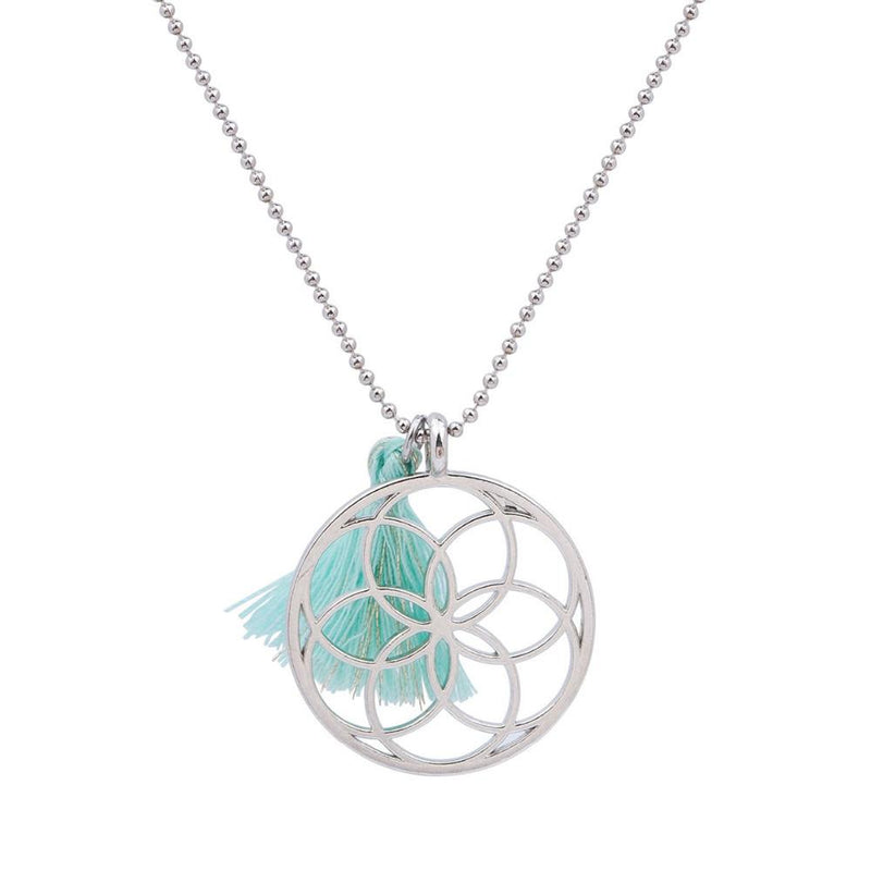 Sacred Geometry Seed Of Life Pendants Necklace - Voodeal