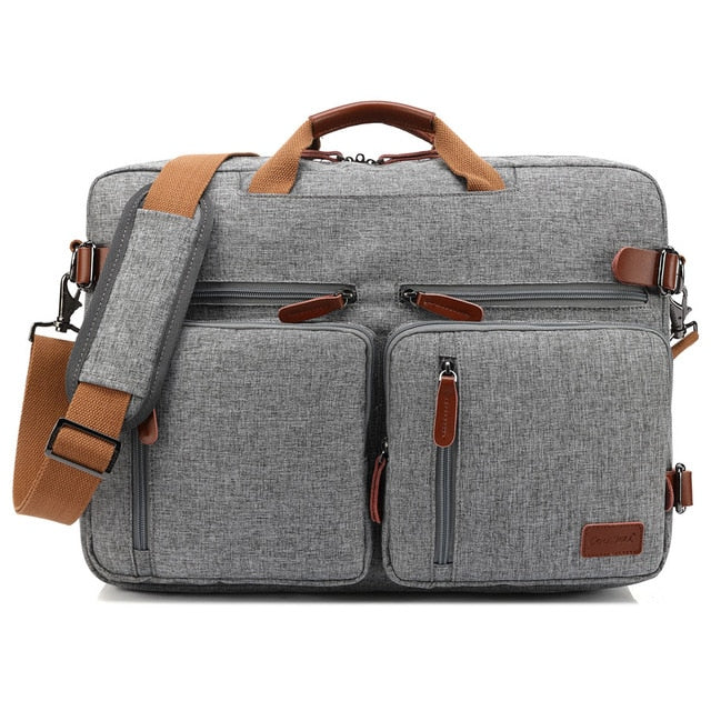 Convertible Backpack - 17.3 Inch Convertible Laptop Briefcase Backpack - Voodeal