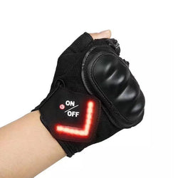Bike Gloves With LED Turn Signal Light - Voodeal