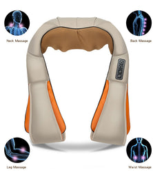 Neck Massager - Infrared Heated Shiatsu Neck and Shoulder Massager