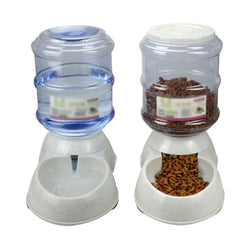 Automatic Pet Feeder & Drinking Fountain For Cats Dogs - Voodeal
