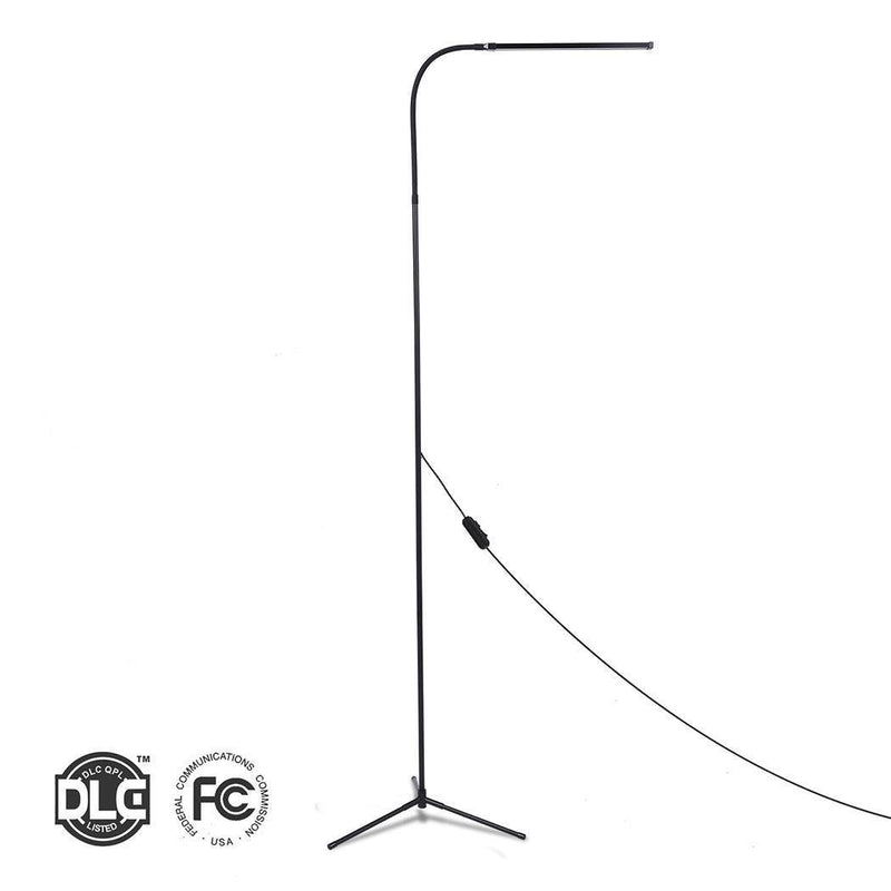 Floor Lamps -  8w Led 1.75m Warm Dimmable Tall Floor Standing Lamp