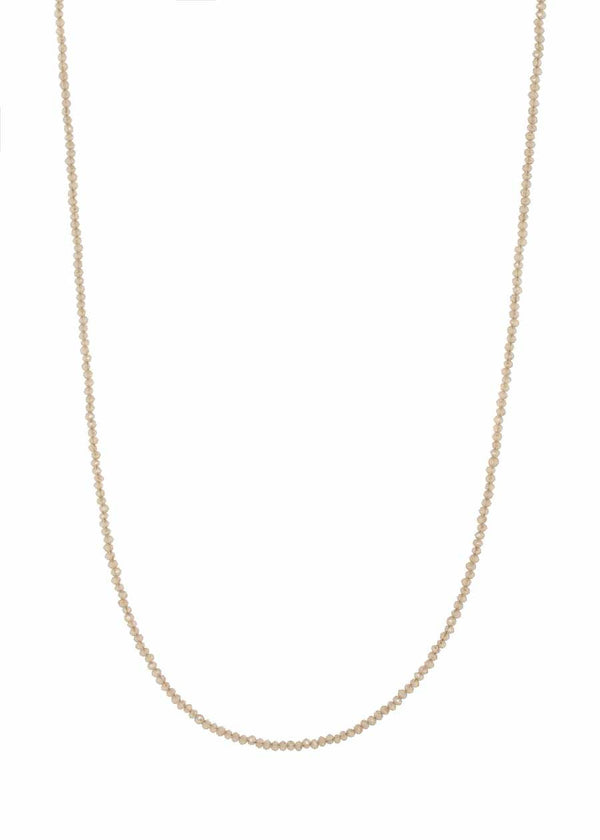Swarovski crystal long strand necklace, Alone or together with 02508N0058, Can be worn short double