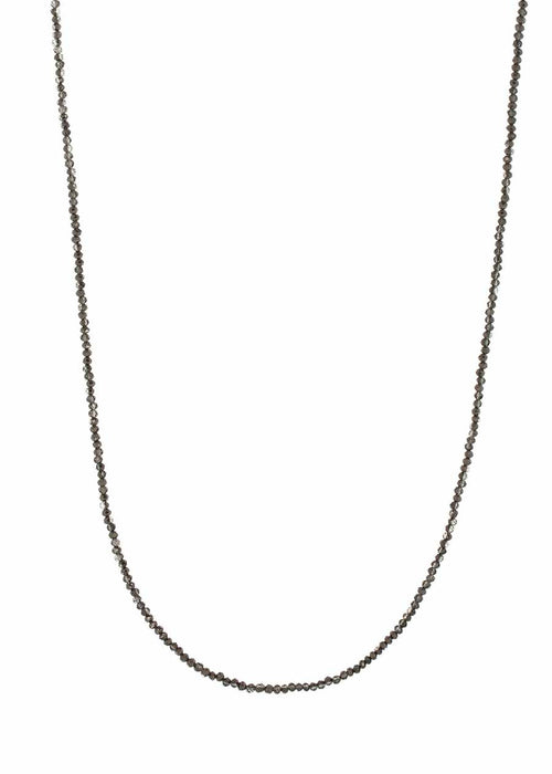 Swarovski crystal long strand necklace, Alone or together with 02510N0058, Can be worn short double