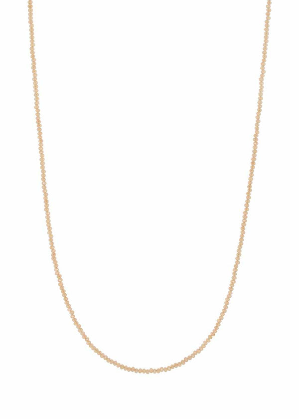 Swarovski crystal long strand necklace, Alone or together with 02512N0058, Can be worn short double