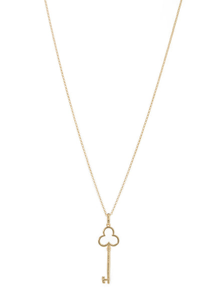 La Chiavetta long pendant necklace in Gold
