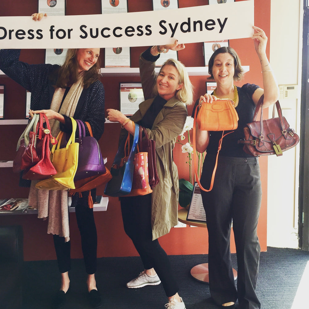 Dress for Success Handbag Drive