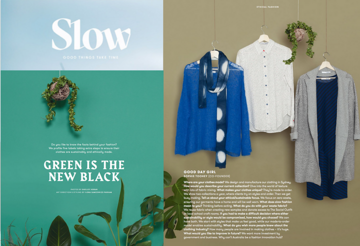 Green is the New Black - Slow Magazine