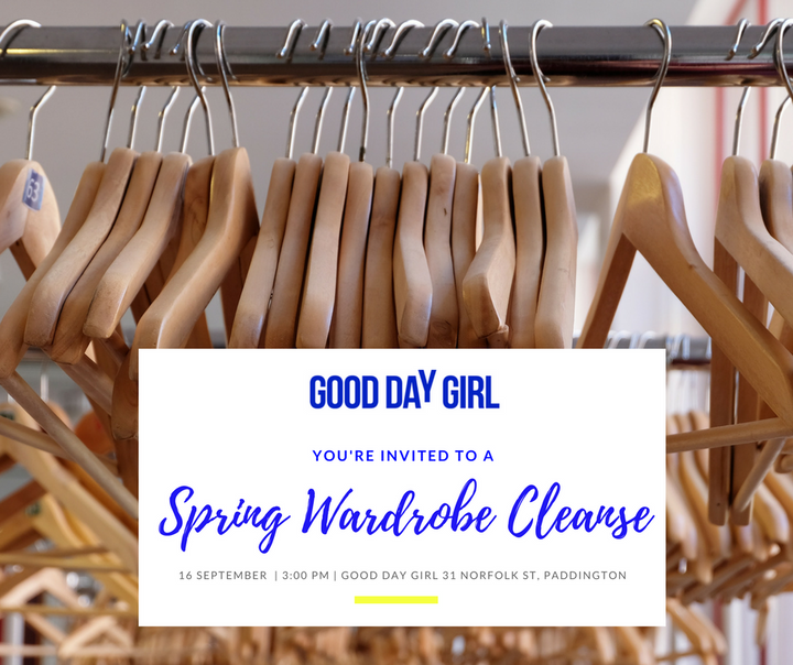 Workshop: Spring Wardrobe Clean!