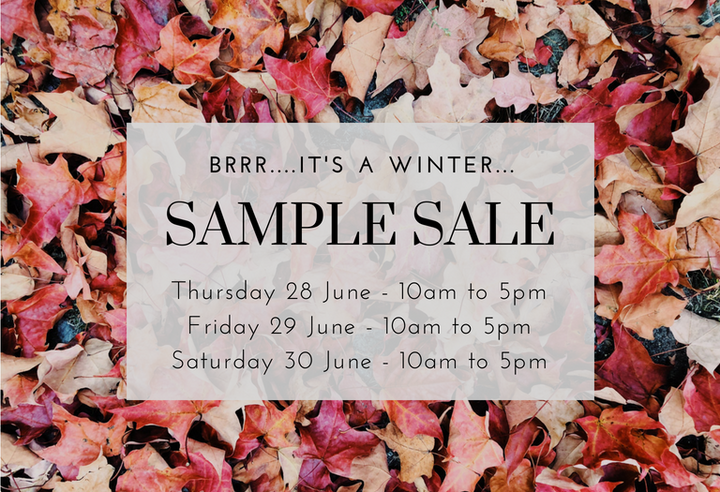 Winter Sample Sale