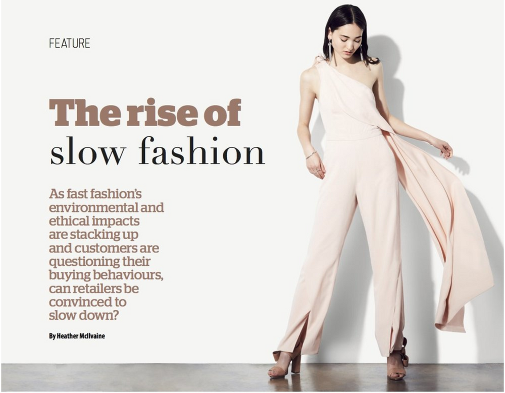The Rise of Slow Fashion