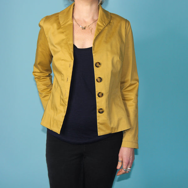 Mr Rose Mustard Jacket