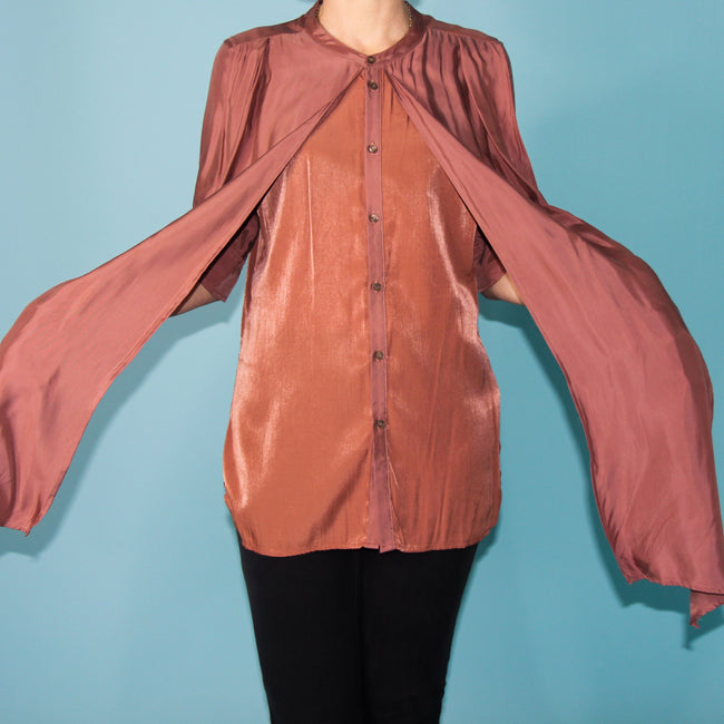 Terracotta Blouse - Size 8/10