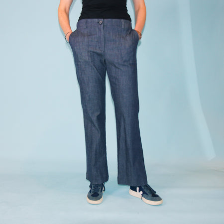San Miguel Pants - Denim - Size 10
