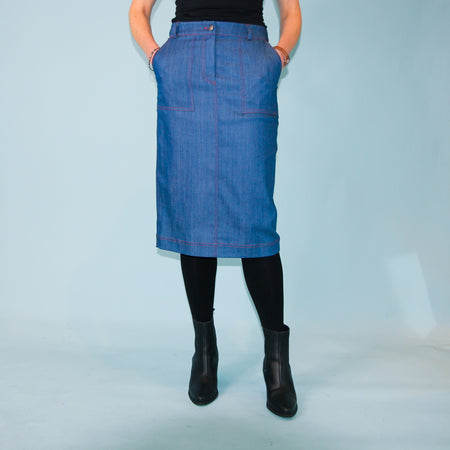 Tofino Skirt - Denim- Size 8, 10, 16 & 18