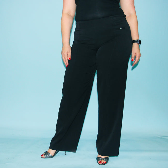 Sashay Pants - Black - Size 16 & 18