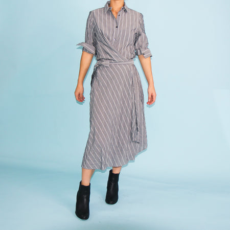 Cayman Shirt Dress - Grey - Size 6