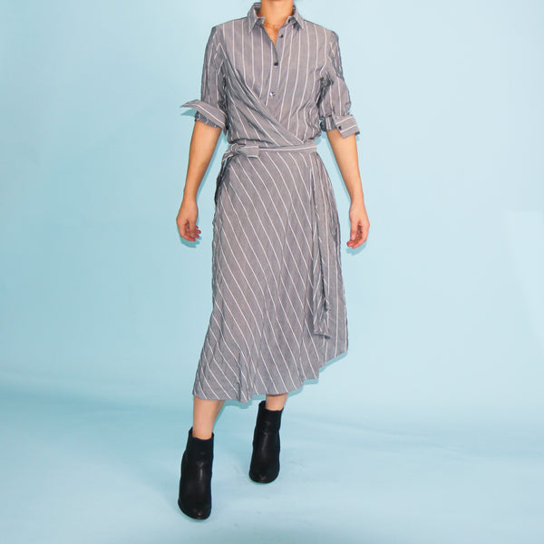 Cayman Shirt Dress - Grey