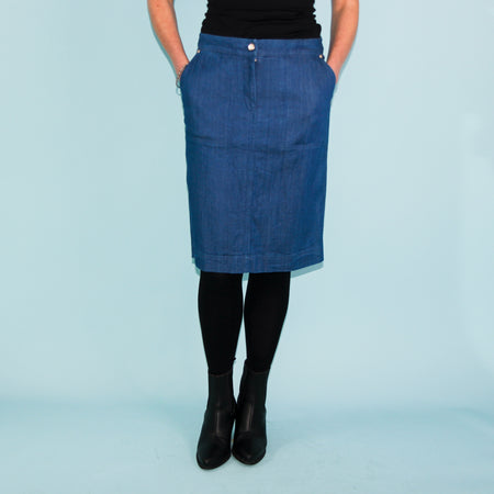 Denim Skirt - Size 10