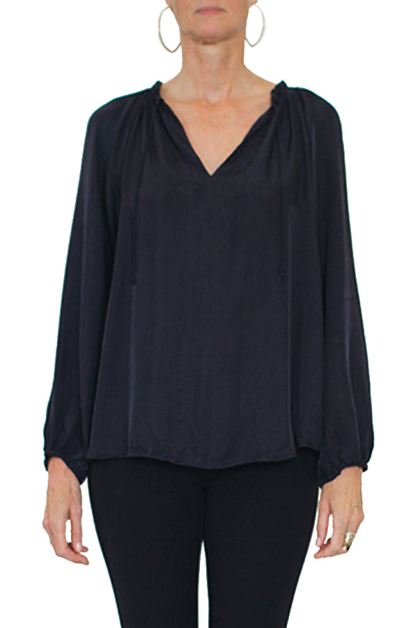 Phoenix Top - Navy - Size S ONLY