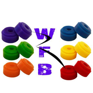 Riptide Bushings: WFB Chubby  73a Green Bushings- Edge Boardshop