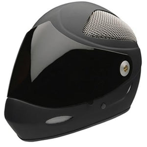 Icaro Full Face Helmet: 4 Fight Grid Cut Black Velvet Helmets Full Face- Edge Boardshop