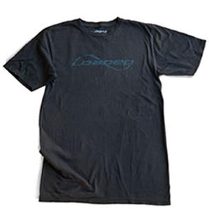 Loaded T Shirt: Loaded Logo Black T Shirts- Edge Boardshop