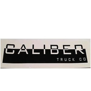 "Caliber Sticker: Logo Sticker 8"" Stickers- Edge Boardshop"