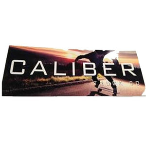"Caliber Sticker: Photo Sticker 6"" Stickers- Edge Boardshop"
