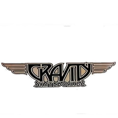 "Gravity Sticker: Gravity Logo 6"" Stickers- Edge Boardshop"