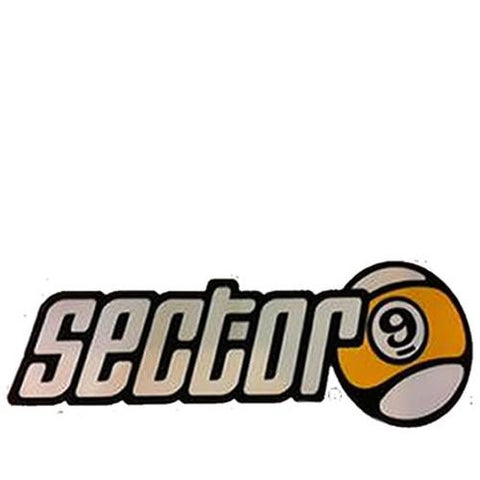 Sector 9 Sticker: Sector 9 Logo 4""