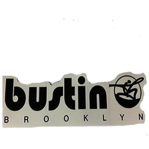 "Bustin Boards Sticker: Bustin Sticker 7"" Stickers- Edge Boardshop"