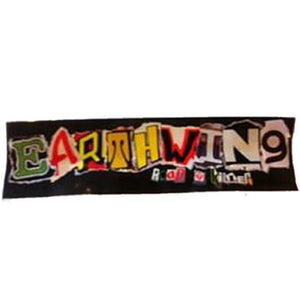 "Earthwing Sticker:  Earthwing Logo Large 9"" Stickers- Edge Boardshop"