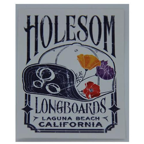 Holesom Sticker: Holesom Logo Sticker Stickers- Edge Boardshop